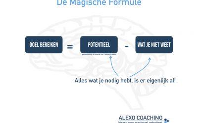 De Magische Formule om doelen te bereiken