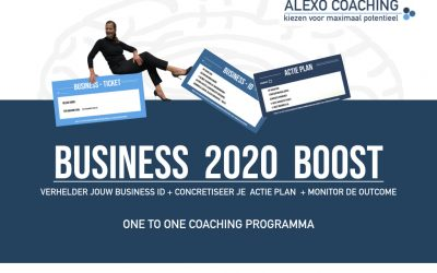 Business 2020 Boost – one to one coaching programma