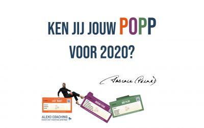 Personal Coaching : Heb jij je POP voor 2020?